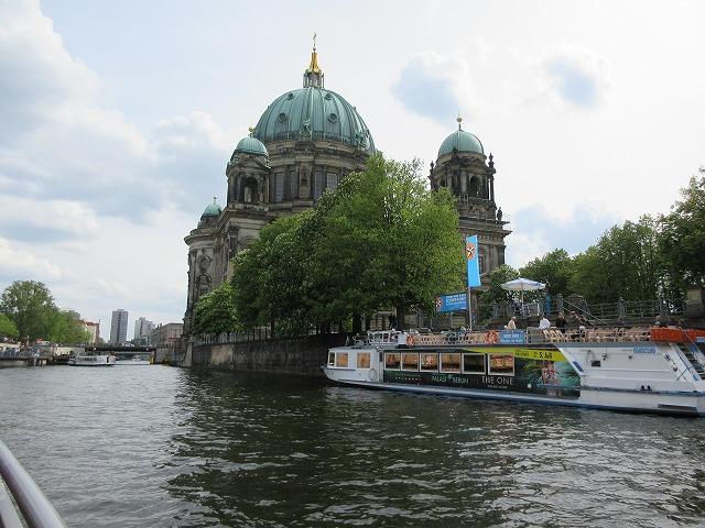 美しいベルリン大聖堂が見える:帰ってきた