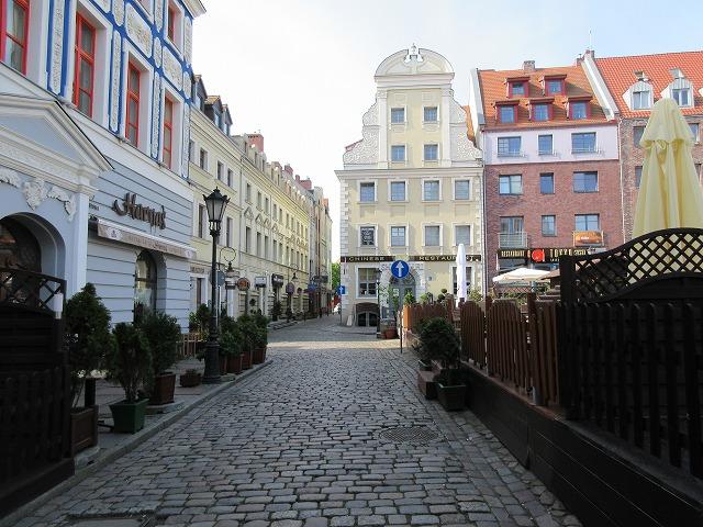 美しいシュチェチン旧市街
