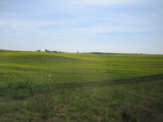 ドイツ北東部の景色