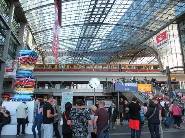 ベルリン中央駅とSバーン