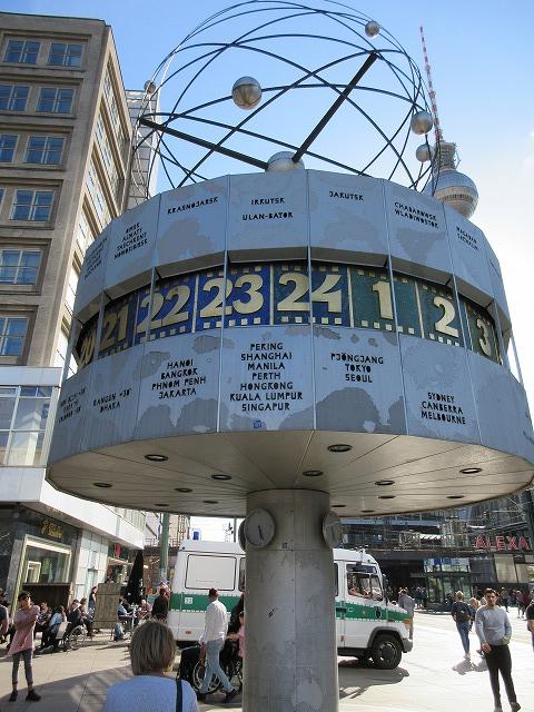 独創的な世界時計