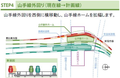 渋谷切り替え工事4