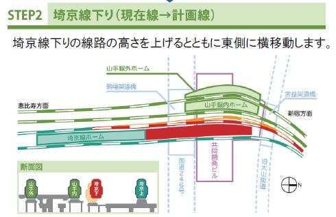 渋谷切り替え工事2