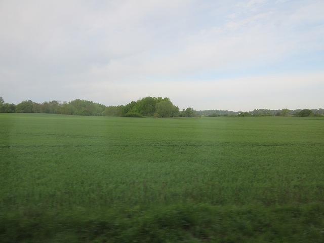 ベルリン周辺の田園風景
