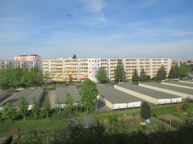 ドレスデン郊外の住宅団地