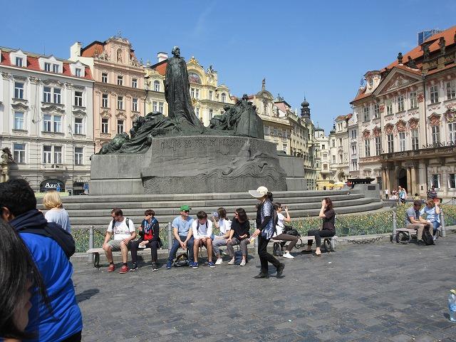 美しい旧市街広場