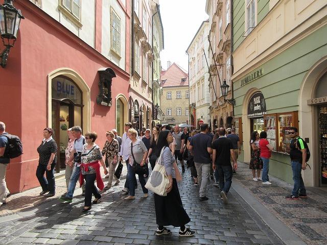 旧市街の街