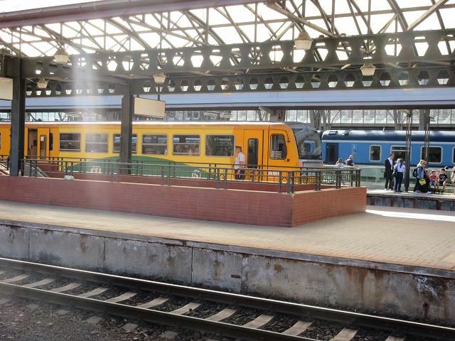 プラハ本駅ホーム