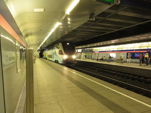ウィーン中央駅のSバーン