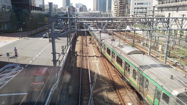 大崎短絡線:大崎駅構内