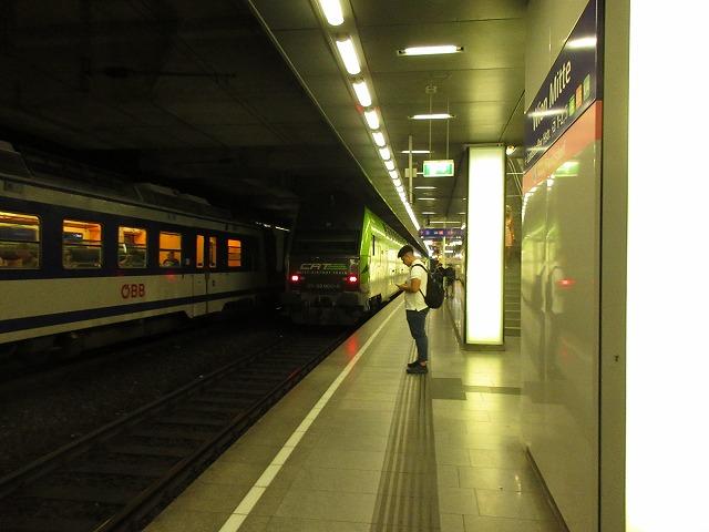 ウィーンミッテ駅とCAT