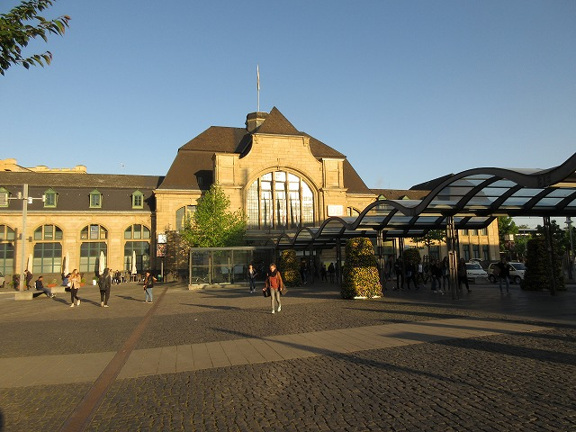 コブレンツ中央駅の外観