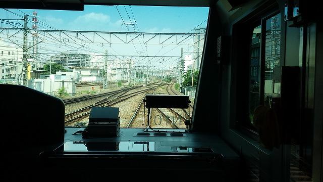 南武線快速:立川を発車