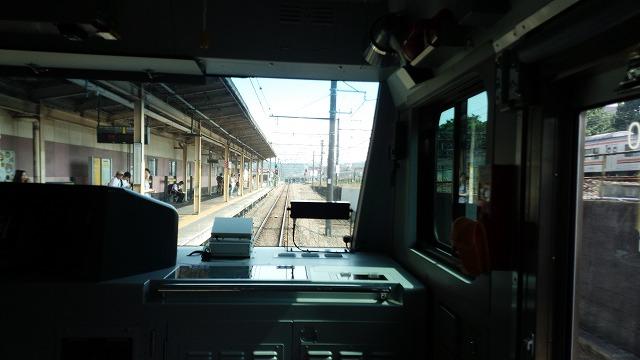 南武線快速:府中本町