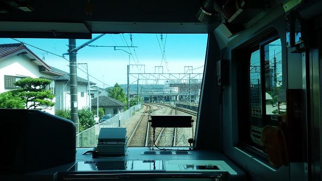 南武線快速:府中本町を発車