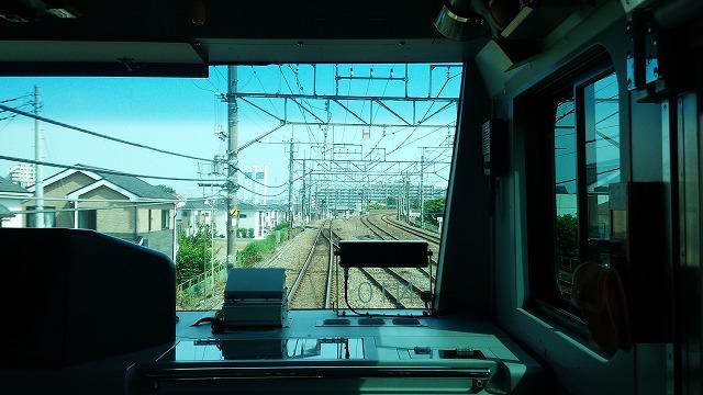 南武線快速:武蔵野線への渡り線