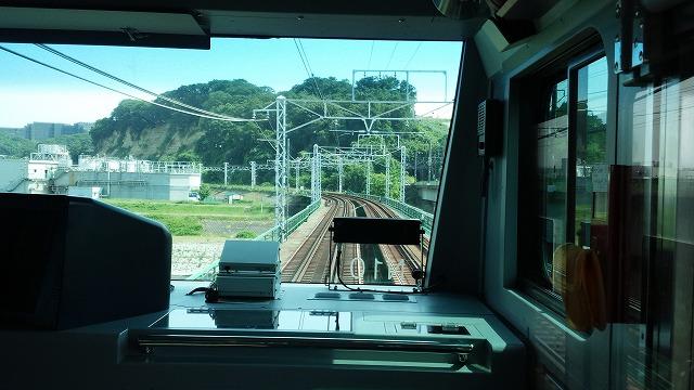南武線快速:多摩川を渡る