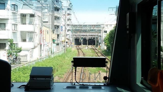 南武線快速:登戸に到着
