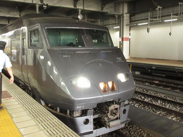 787系の先頭(博多)