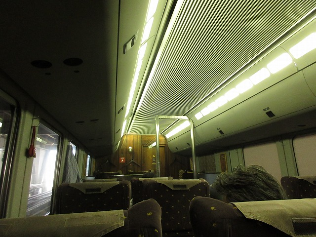787系の内装