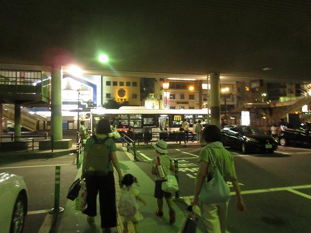 長崎駅前(バス乗りばまで)