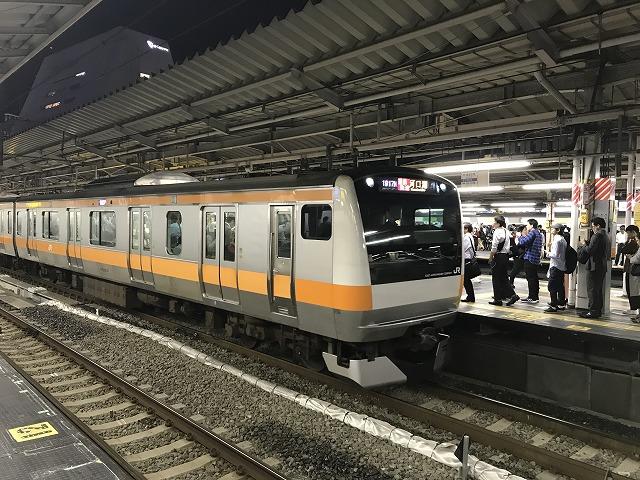 E233系通勤快速