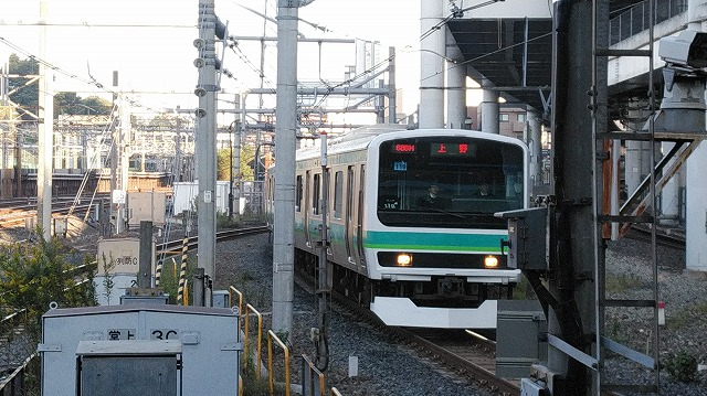 E231系常磐線(日暮里)