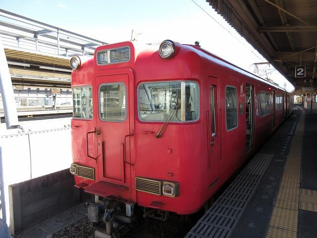 名鉄6000系(蒲郡)
