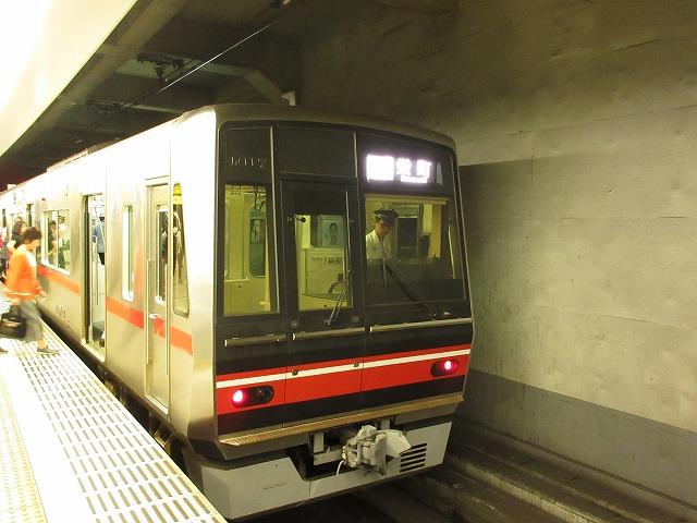 名鉄4000系(栄町)