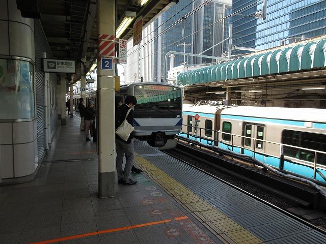 2018.11.3 東京に入線するE531系
