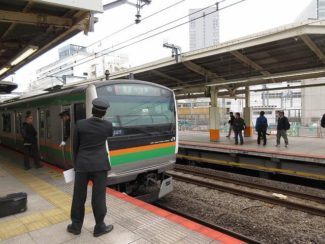 E233系:横浜折り返し