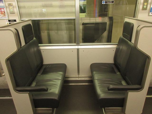 9000系リニューアル車:ボックスシート