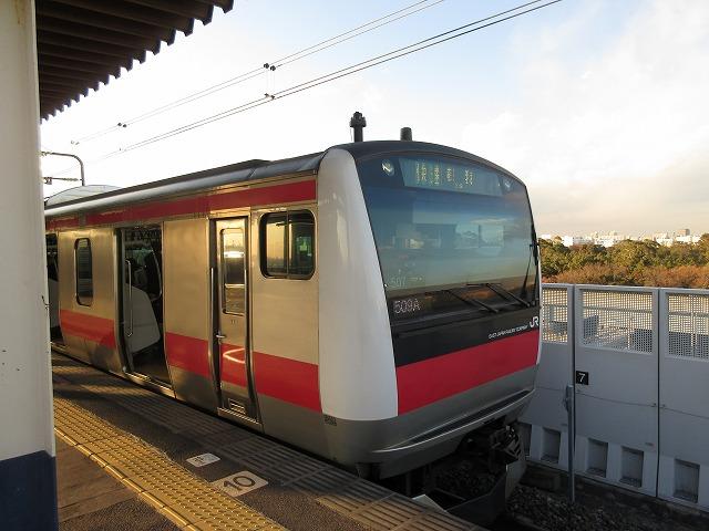 京葉線E233系(新木場)
