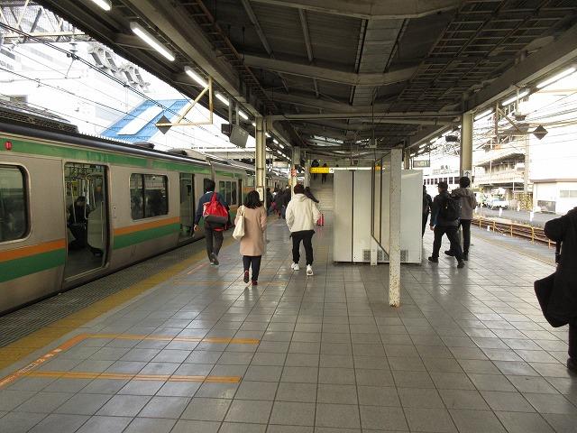 湘南新宿ラインE231系(池袋)
