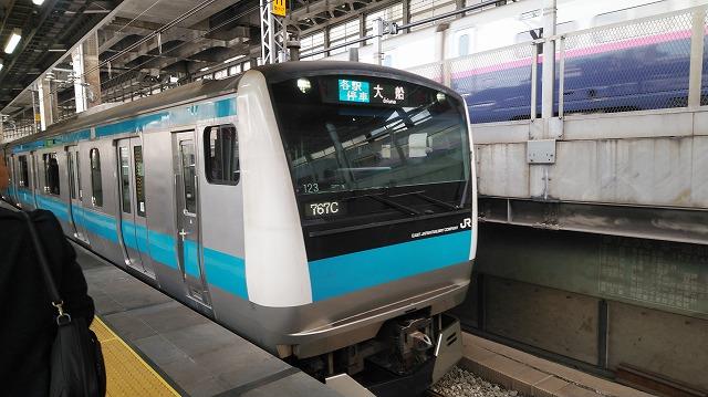 京浜東北線E233系(神田)