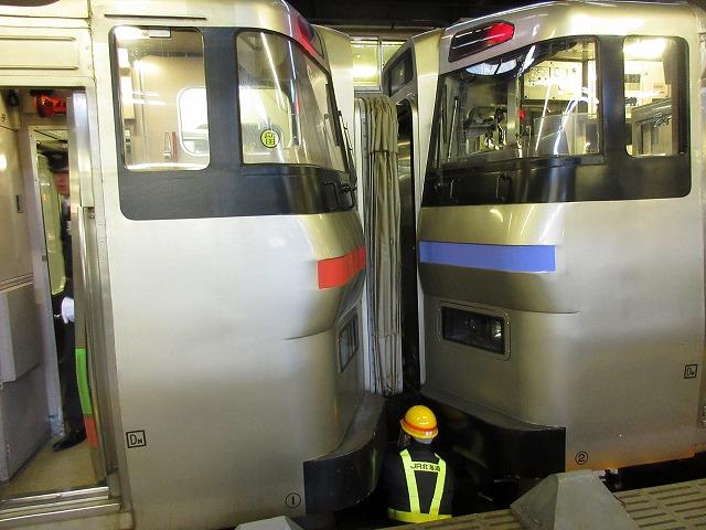201系気動車と731系電車