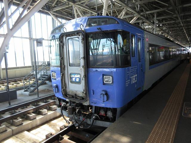 183系気動車大雪(旭川)