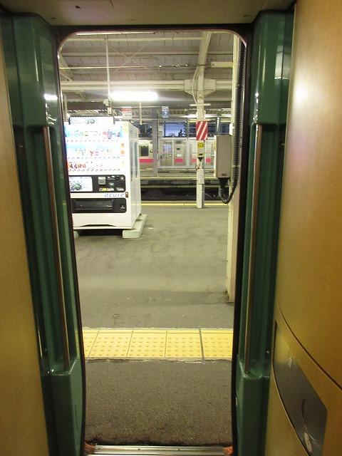 E751系の車内