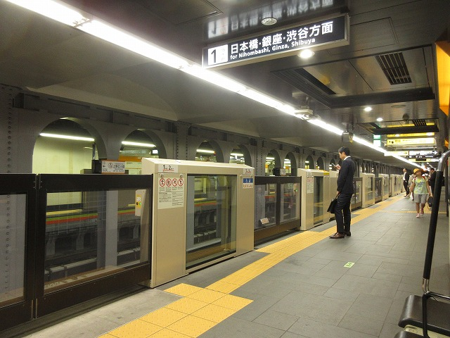 銀座線上野広小路駅