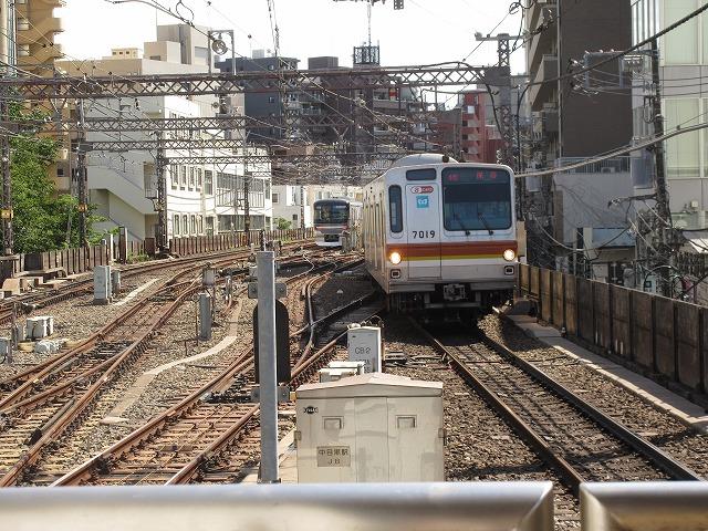 メトロ7000系(中目黒)