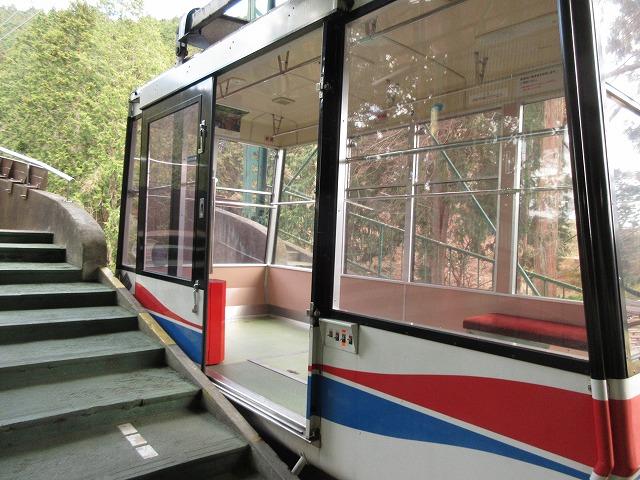 叡山ロープウェイの車両