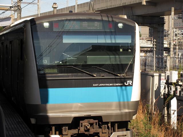 京浜東北線田町行きE233系