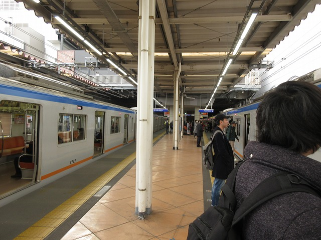 二俣川4番線