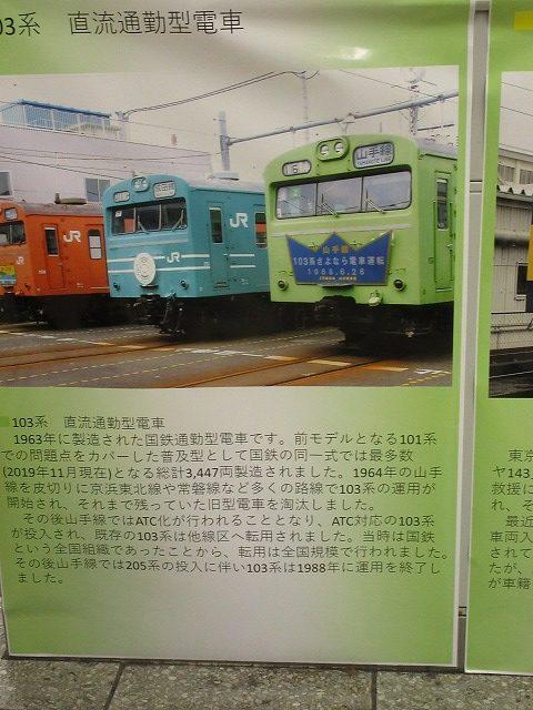 大塚駅イベント:103系の引退