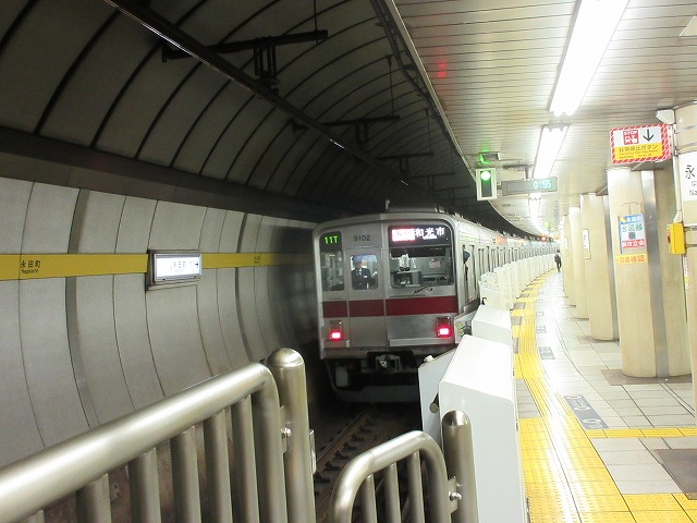 東武9000系(永田町)