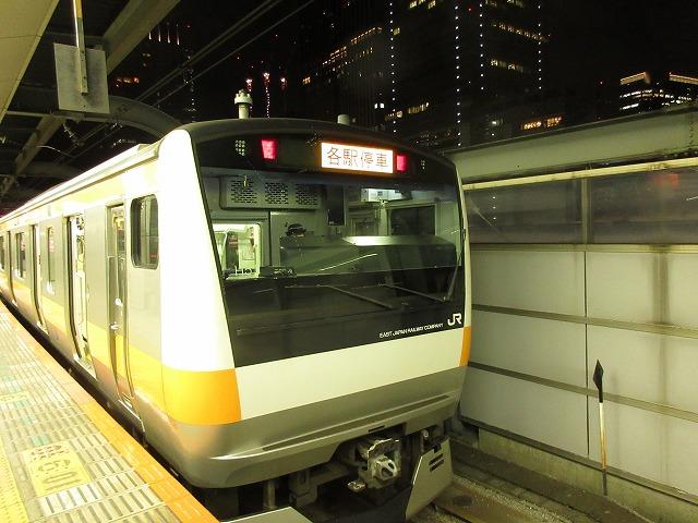 E233系各駅停車立川行き