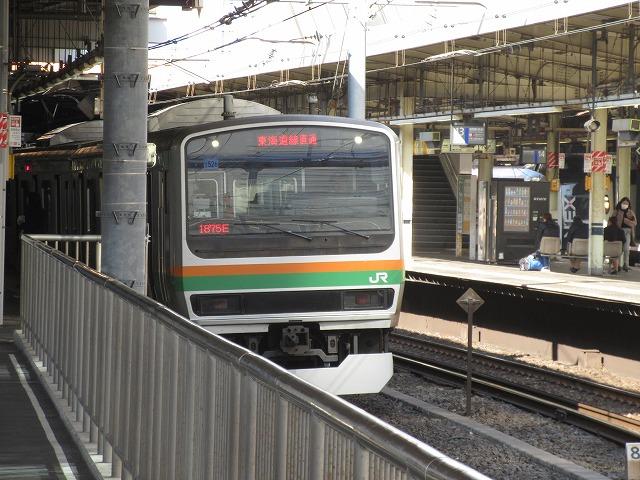 東海道線E231系(品川)