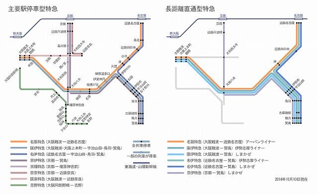 近鉄特急ルートマップ_20141010A