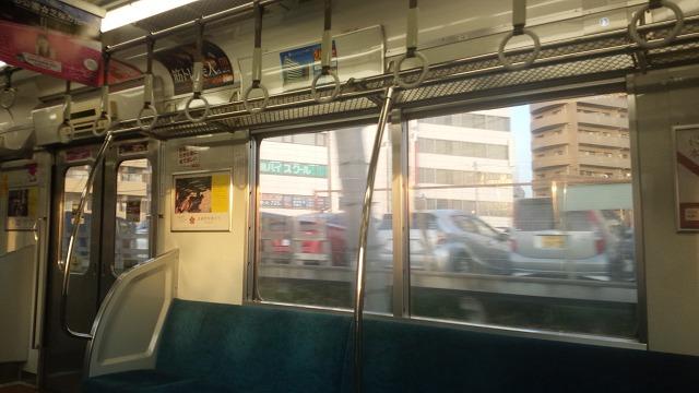 西武新宿線車内
