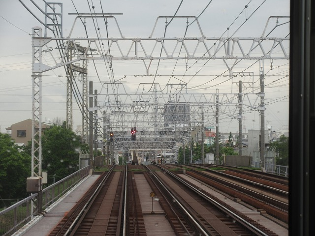 京成の複々線区間(京成高砂-青砥)